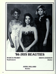 Page 132, 1986 Edition, Minor High School - Iris Yearbook (Birmingham, AL) online yearbook collection