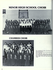 Page 184, 1986 Edition, Minor High School - Iris Yearbook (Birmingham, AL) online yearbook collection