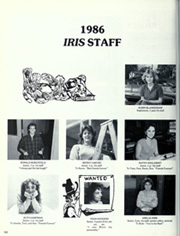 Page 186, 1986 Edition, Minor High School - Iris Yearbook (Birmingham, AL) online yearbook collection