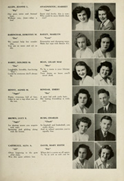 Page 13, 1945 Edition, Woodrow Wilson High School - Orion Yearbook (Youngstown, OH) online yearbook collection