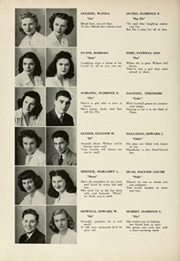 Page 14, 1945 Edition, Woodrow Wilson High School - Orion Yearbook (Youngstown, OH) online yearbook collection
