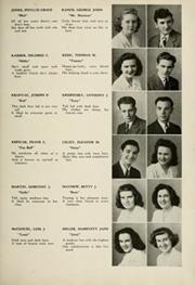 Page 15, 1945 Edition, Woodrow Wilson High School - Orion Yearbook (Youngstown, OH) online yearbook collection