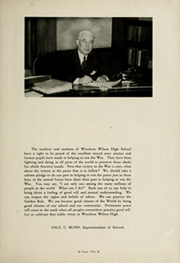 Page 9, 1945 Edition, Woodrow Wilson High School - Orion Yearbook (Youngstown, OH) online yearbook collection