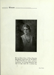 Page 17, 1925 Edition, Bloom High School - Bloom Yearbook (Chicago Heights, IL) online yearbook collection