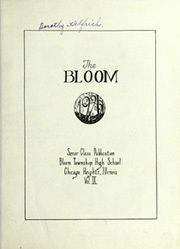 Page 7, 1925 Edition, Bloom High School - Bloom Yearbook (Chicago Heights, IL) online yearbook collection