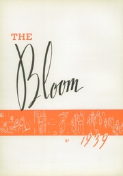 Page 6, 1939 Edition, Bloom High School - Bloom Yearbook (Chicago Heights, IL) online yearbook collection