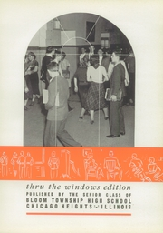 Page 7, 1939 Edition, Bloom High School - Bloom Yearbook (Chicago Heights, IL) online yearbook collection