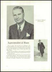 Page 16, 1951 Edition, Bloom High School - Bloom Yearbook (Chicago Heights, IL) online yearbook collection