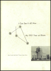 Page 5, 1951 Edition, Bloom High School - Bloom Yearbook (Chicago Heights, IL) online yearbook collection