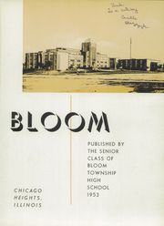 Page 5, 1953 Edition, Bloom High School - Bloom Yearbook (Chicago Heights, IL) online yearbook collection