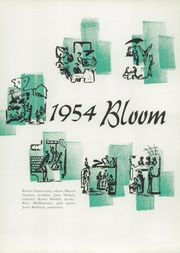 Page 5, 1954 Edition, Bloom High School - Bloom Yearbook (Chicago Heights, IL) online yearbook collection
