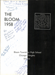Page 5, 1958 Edition, Bloom High School - Bloom Yearbook (Chicago Heights, IL) online yearbook collection