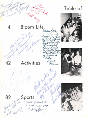 Page 6, 1958 Edition, Bloom High School - Bloom Yearbook (Chicago Heights, IL) online yearbook collection