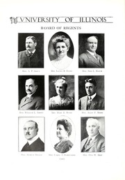 Page 16, 1913 Edition, University of Illinois - Illio Yearbook (Urbana Champaign, IL) online yearbook collection