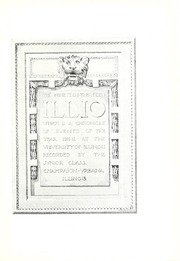 Page 7, 1913 Edition, University of Illinois - Illio Yearbook (Urbana Champaign, IL) online yearbook collection