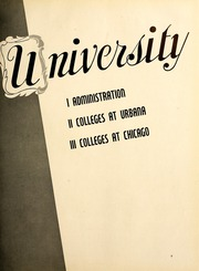 Page 13, 1945 Edition, University of Illinois - Illio Yearbook (Urbana Champaign, IL) online yearbook collection