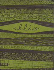 1951 Edition, University of Illinois - Illio Yearbook (Urbana Champaign, IL)