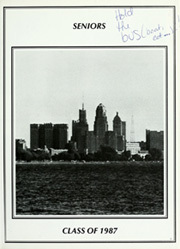 Page 7, 1987 Edition, Mount Saint Mary Academy - Chrysalis Yearbook (Kenmore, NY) online yearbook collection