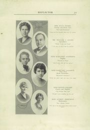 Page 15, 1921 Edition, Galesburg High School - Reflector Yearbook (Galesburg, IL) online yearbook collection
