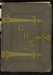 Page 1, 1924 Edition, Galesburg High School - Reflector Yearbook (Galesburg, IL) online yearbook collection