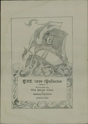 Page 7, 1929 Edition, Galesburg High School - Reflector Yearbook (Galesburg, IL) online yearbook collection