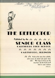 Page 6, 1937 Edition, Galesburg High School - Reflector Yearbook (Galesburg, IL) online yearbook collection
