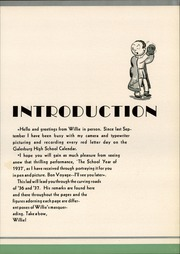 Page 9, 1937 Edition, Galesburg High School - Reflector Yearbook (Galesburg, IL) online yearbook collection