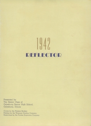 Page 5, 1942 Edition, Galesburg High School - Reflector Yearbook (Galesburg, IL) online yearbook collection