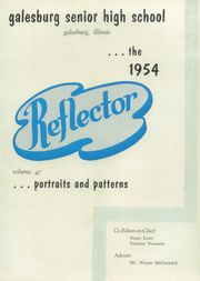 Page 7, 1954 Edition, Galesburg High School - Reflector Yearbook (Galesburg, IL) online yearbook collection