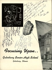Page 6, 1955 Edition, Galesburg High School - Reflector Yearbook (Galesburg, IL) online yearbook collection