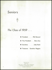 Page 14, 1959 Edition, Galesburg High School - Reflector Yearbook (Galesburg, IL) online yearbook collection