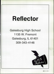 Page 5, 1986 Edition, Galesburg High School - Reflector Yearbook (Galesburg, IL) online yearbook collection