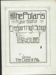 Page 7, 1916 Edition, Freeport High School - Polaris Yearbook (Freeport, IL) online yearbook collection