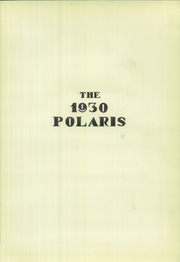 Page 5, 1930 Edition, Freeport High School - Polaris Yearbook (Freeport, IL) online yearbook collection