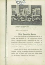 Page 72, 1934 Edition, Carbondale Community High School - Dial Yearbook (Carbondale, IL) online yearbook collection