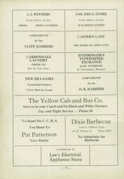 Page 74, 1934 Edition, Carbondale Community High School - Dial Yearbook (Carbondale, IL) online yearbook collection