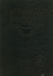 Carbondale Community High School - Dial Yearbook (Carbondale, IL) online yearbook collection, 1937 Edition, Page 1