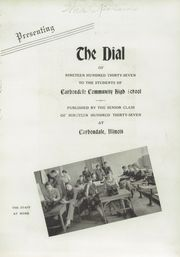 Page 7, 1937 Edition, Carbondale Community High School - Dial Yearbook (Carbondale, IL) online yearbook collection