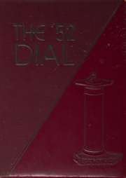 1952 Edition, Carbondale Community High School - Dial Yearbook (Carbondale, IL)