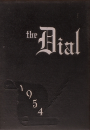 1954 Edition, Carbondale Community High School - Dial Yearbook (Carbondale, IL)