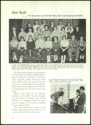 Page 12, 1954 Edition, Carbondale Community High School - Dial Yearbook (Carbondale, IL) online yearbook collection