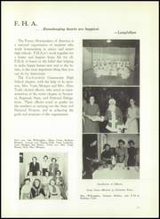 Page 17, 1954 Edition, Carbondale Community High School - Dial Yearbook (Carbondale, IL) online yearbook collection