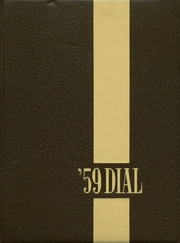 1959 Edition, Carbondale Community High School - Dial Yearbook (Carbondale, IL)