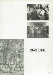 Page 7, 1959 Edition, Carbondale Community High School - Dial Yearbook (Carbondale, IL) online yearbook collection