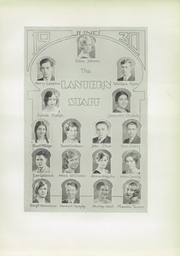 Page 15, 1930 Edition, Roosevelt High School - Log Yearbook (Chicago, IL) online yearbook collection