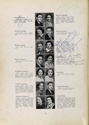 Page 14, 1937 Edition, Roosevelt High School - Log Yearbook (Chicago, IL) online yearbook collection