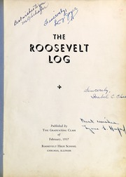 Page 5, 1937 Edition, Roosevelt High School - Log Yearbook (Chicago, IL) online yearbook collection
