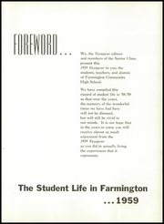 Page 5, 1959 Edition, Farmington High School - Voyageur Yearbook (Farmington, IL) online yearbook collection