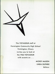 Page 5, 1966 Edition, Farmington High School - Voyageur Yearbook (Farmington, IL) online yearbook collection