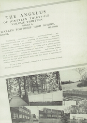 Page 5, 1936 Edition, Warren Township High School - Blue Devil Yearbook (Gurnee, IL) online yearbook collection